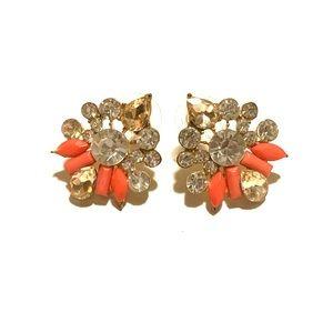 Multi stone earring